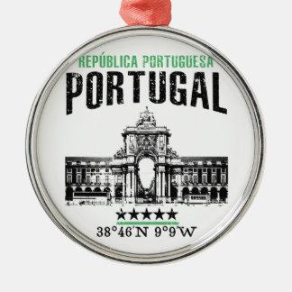 Portugal Silbernes Ornament