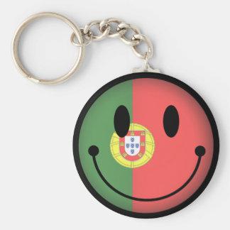Portugal-smiley Schlüsselanhänger