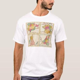 Portugal, Spanien, Deutschland, England, Scottland T-Shirt