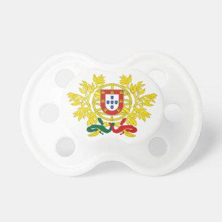Portugal-Wappen Schnuller