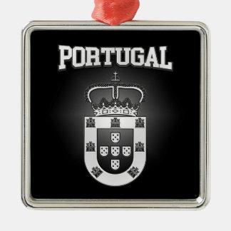 Portugal-Wappen Silbernes Ornament