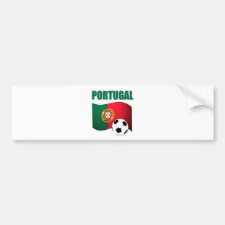 Portugal-Weltmeisterschaft-T - Shirt Autoaufkleber