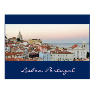 Portugiese: Lissabon, Portugal Postkarte