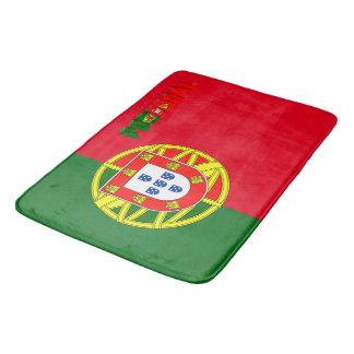 Portugiesische Flagge Badematte