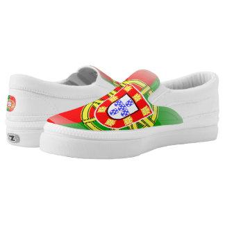 Portugiesische glatte Flagge Slip-On Sneaker