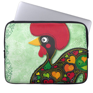 Portugiesische Hahnlaptophülse Laptop Sleeve Schutzhülle