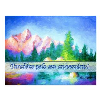 Portugiesische Postkarte