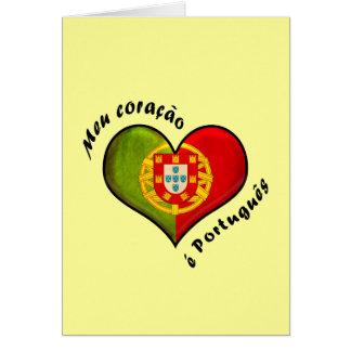 Portugiesisches Herz Karte