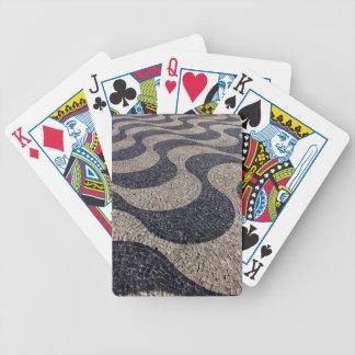 Portugiesisches Pflaster Spielkarten