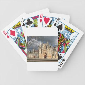 Portugiesisches Schloss Bicycle Spielkarten
