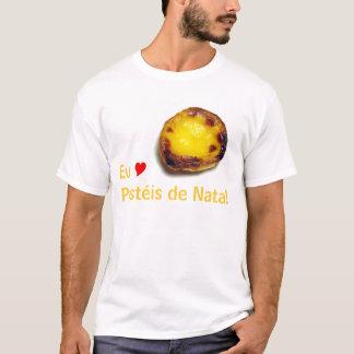 Portugiesisches Vanillepuddingtörtchen T-Shirt