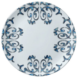 Porzellan-Platte Teller
