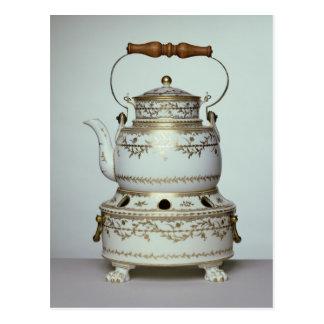Porzellankessel und -stand Louis XVI herein Postkarte