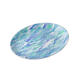 Porzellanplatte Teller
