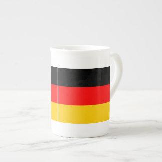 Porzellantasse Deutschland Fahne