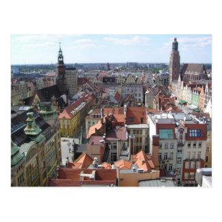 Posen Polen Postkarte