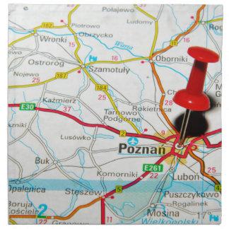 Posen, Polen Stoffserviette