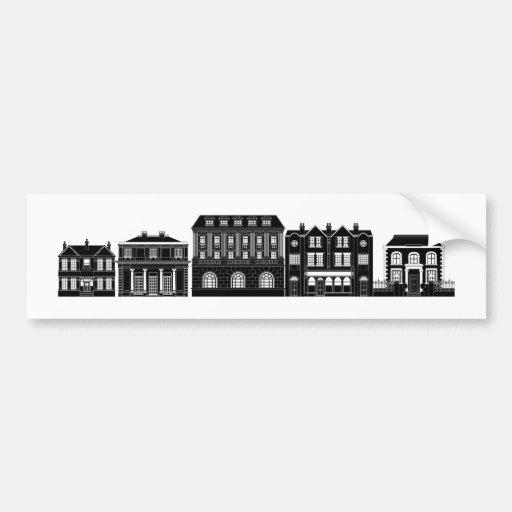 Posh intelligente Reihe der Gebäude Auto Sticker
