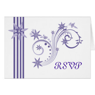 Posh lila UAWG Karten