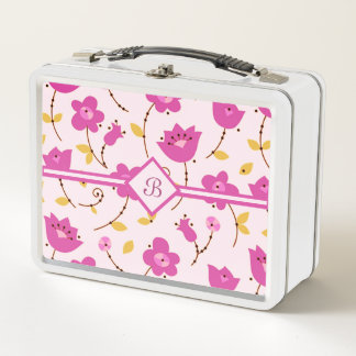 Posies 5 metall lunch box