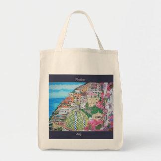 Positano, Lebensmittelgeschäft-Tasche Tragetasche
