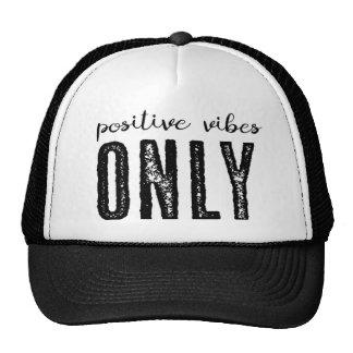 Positiver Schwingungens-nur - Fernlastfahrer-Hut Cap