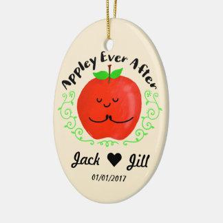 Positives Apple machen - Appley seitdem ein Keramik Ornament