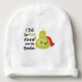 Positives Birnen-Wortspiel - SuPear Nahrung von Babymütze