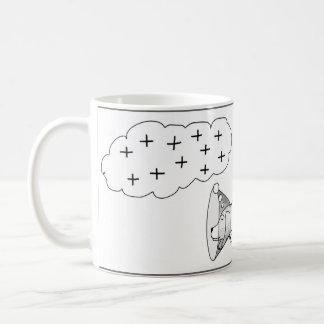 Positives Denken!  Sie Kegel tun IHN! Kaffeetasse