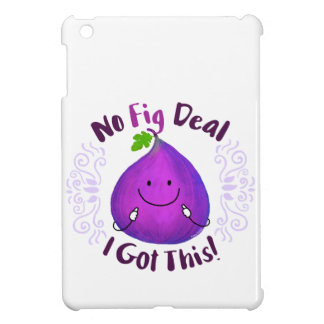 Positives Feigen-Wortspiel - kein Feigen-Abkommen iPad Mini Hülle