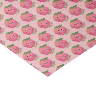 Positives Pfirsich-Wortspiel - pfirsichfarben Seidenpapier