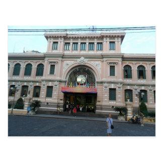 Post-Gebäude in Ho Chi Minh, Vietnam Postkarten