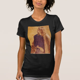 Post-Impressionismus-Kunst-Mädchen im Profil - T-Shirt