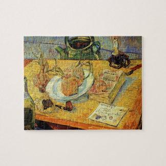 Post-Impressionismus-noch Leben-Kunst Van Gogh Puzzle