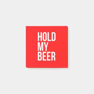 Post-Itgriff mein Bier - WÄHLEN Sie IHRE FARBE Post-it Klebezettel