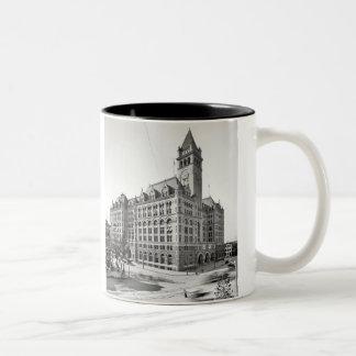 Post-Washington-Tasse Zweifarbige Tasse