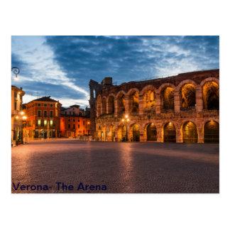 Postacard Arena von Verona Postkarte