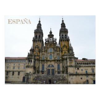 postalische Kathedrale von Santiago Compostela Von Postkarte