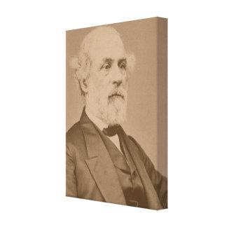 Postbellum Porträt von Robert-Lee durch Mathew Leinwanddruck