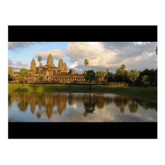 Postcard Angkor Wat (Temple View), Cambodia Postkarte
