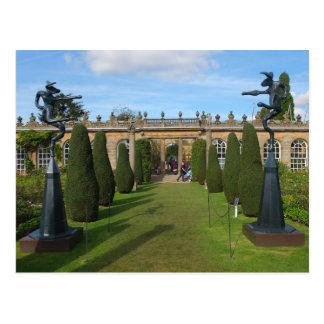 Postcard Chatsworth Sculptures, Derbyshire, UK Postkarte