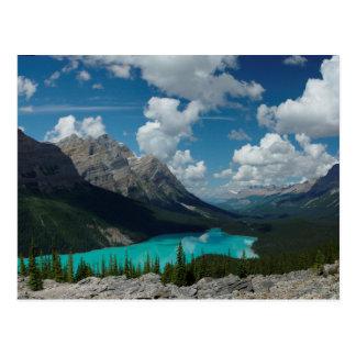 Postcard Lake Peyto in Banff National Park, Canada Postkarte