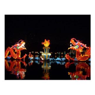 Postcard Mid Autumn Festival Beijing chinierte Postkarte