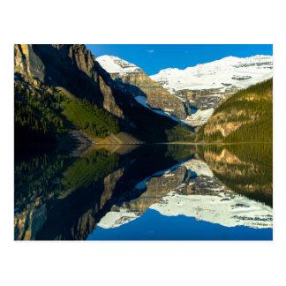 Postcard Mirror Lake Louise, Alberta Canada Postkarte