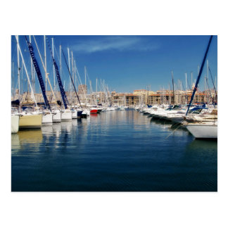 Postcard Old Port in Marseilles, Frankreich Postkarte