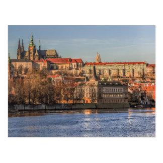 Postcard Panorama of Prague Castle, Czec Republic Postkarte