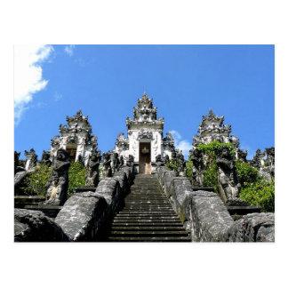 Postcard Pura Lempuyang Luhur, Bali Postkarte