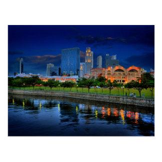 Postcard Robertson Walk, Singapore Postkarte