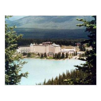 Postcard Schloss Lake Louise in Alberta, Kanada Postkarte