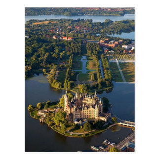 Postcard Schwerin Castle (island), Germany Postkarte